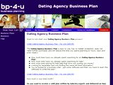 http://www.businessplanning-4-you.com/businessproducts/Dating_Agency_Business_Plan.html
